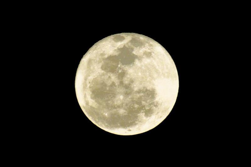 2013年の満月