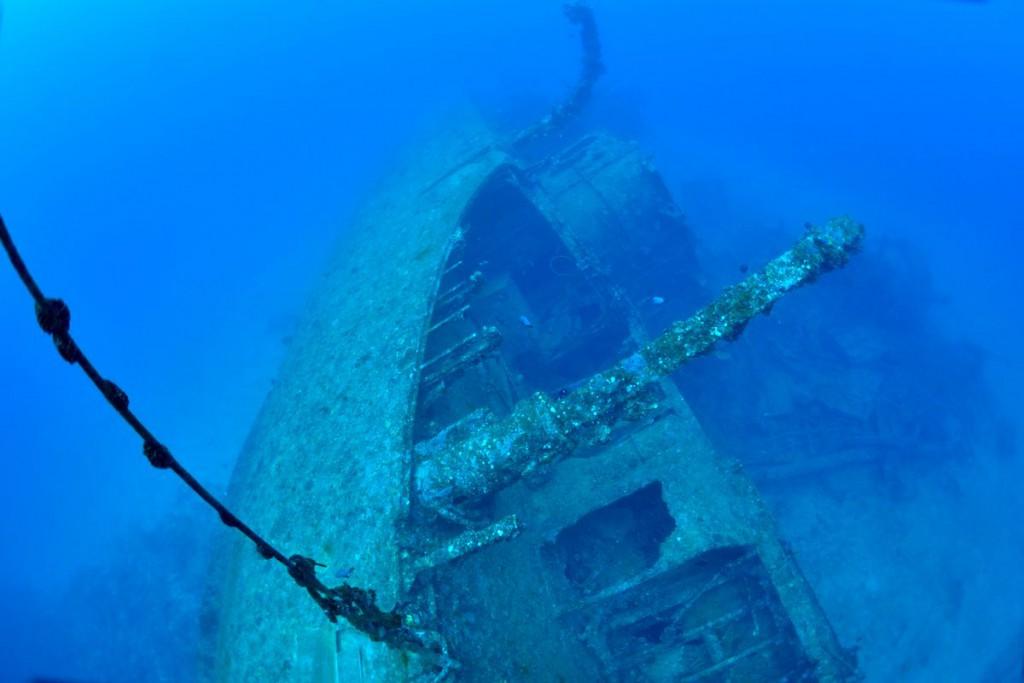 エモンズ (USS EMMONS) 沖縄の沈没船