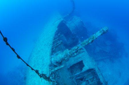 エモンズ・USS EMMON 沖縄の沈没船 高画質