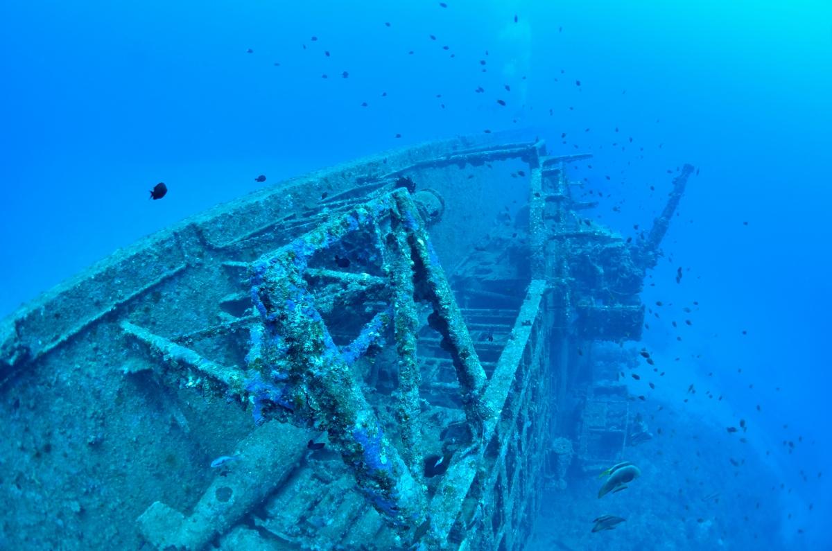 USS EMMONS・米軍掃海艇駆逐艦 船尾4