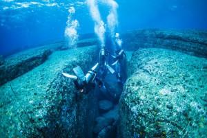 与那国海底遺跡 カメのモニュメント