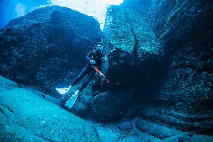 与那国海底遺跡 二枚岩