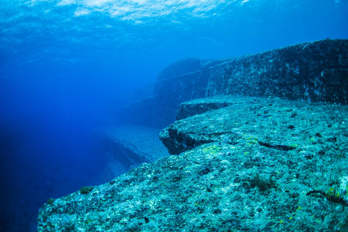 与那国海底遺跡 メインテラス