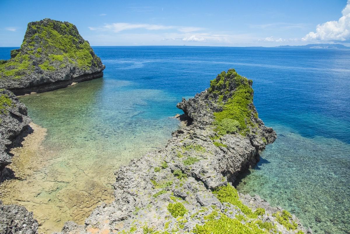 真栄田岬からの絶景ポイント