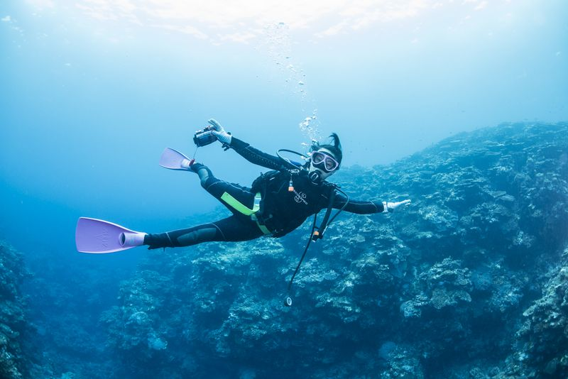 ダイバーの中性浮力