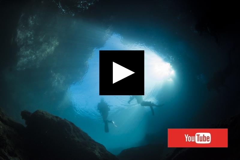 マリンレイク・水面からの光 宮古島 動画