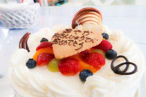 チーフ・あやか 22才の誕生日ケーキ