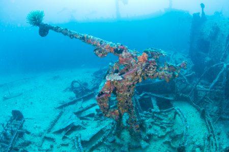ブローニングM2重機関銃(12.7mm機銃) エモンズ・USS EMMON
