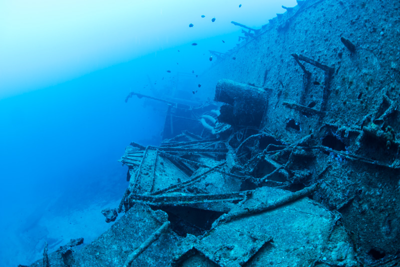 第二次世界大戦の沈没船・USS EMMONS ②