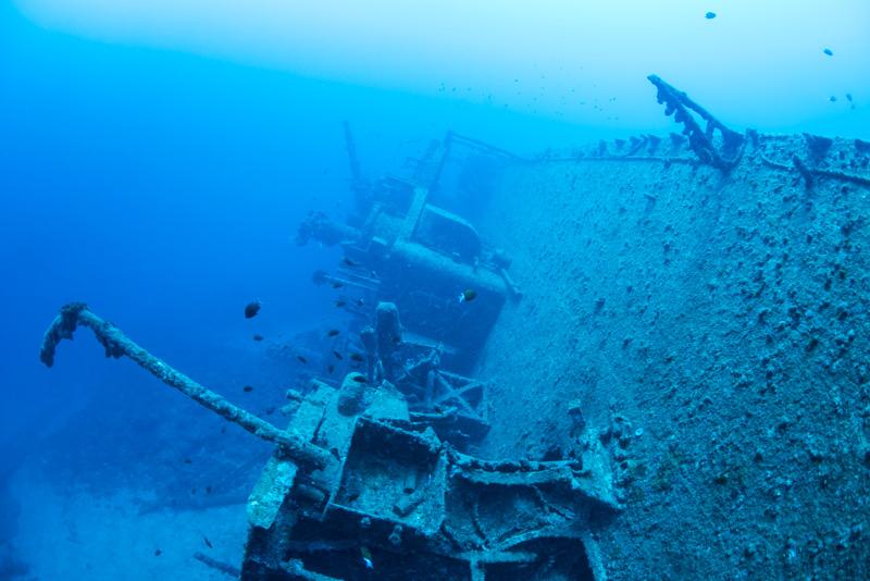 第二次世界大戦の沈没船・USS EMMONS ③