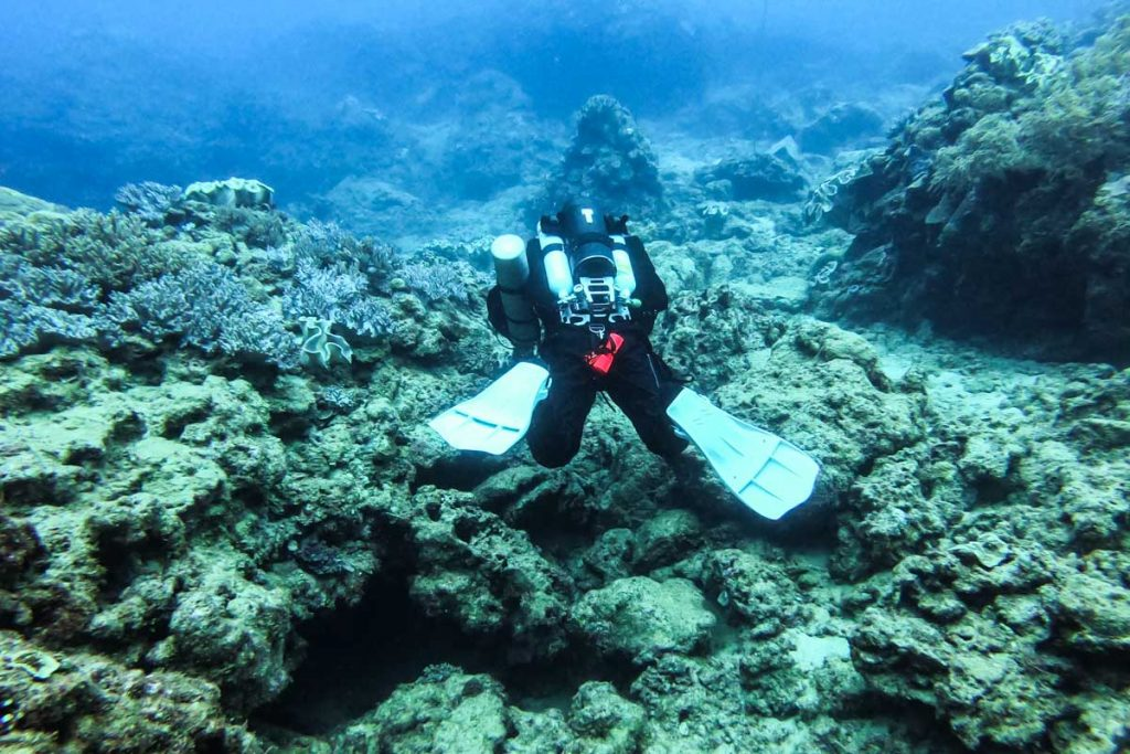LIBERTY・リブリーザーの海洋実習①