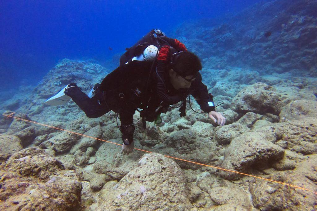 LIBERTY・リブリーザーの海洋実習②