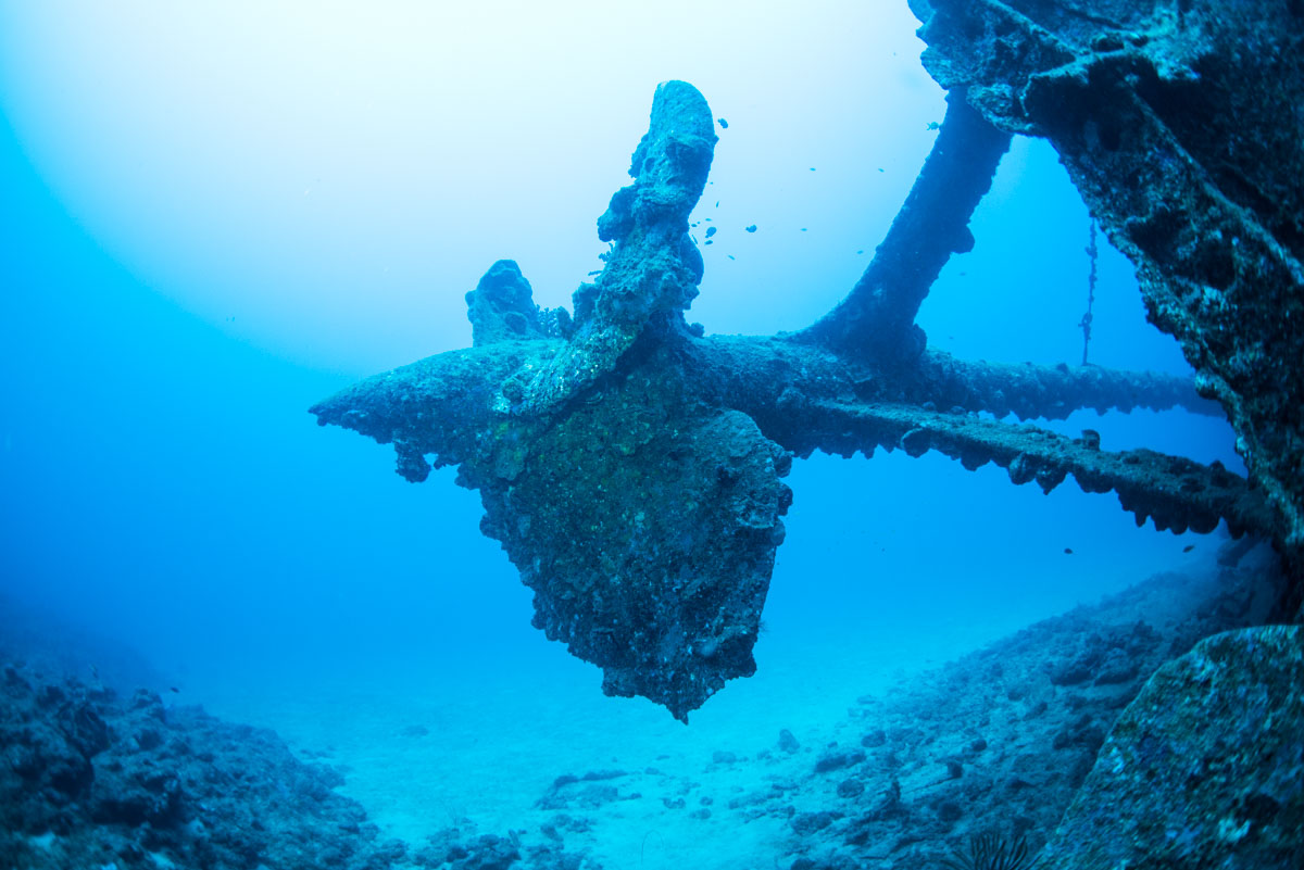 スクリュー・プロペラ  USSエモンズ