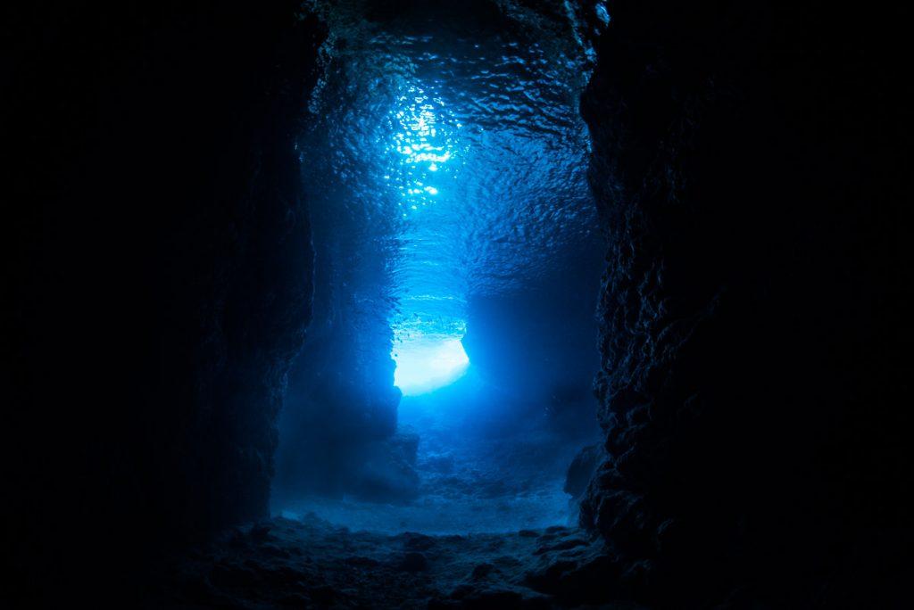 青の洞窟・2021年のワイド撮影