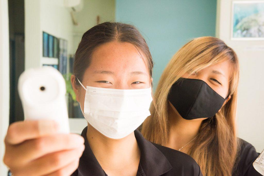 新型コロナウイルス感染症対策・ワールドダイビング